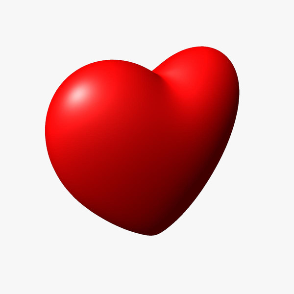 Red Heart Symbol   Clipart Best