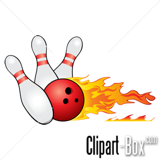 Related Bowling Fire Cliparts