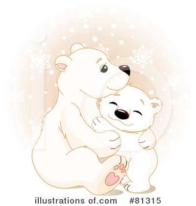 Royalty Free  Rf  Polar Bear Clipart Illustration By Pushkin   Stock