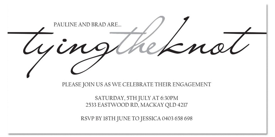Tying the knot wording clipart clipart suggest for The knot wedding invitation language