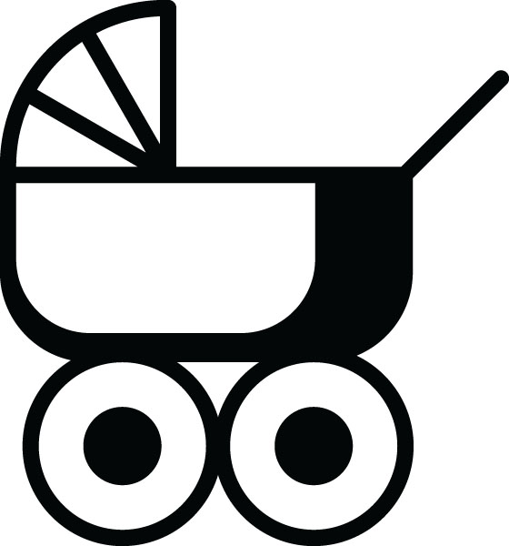 Stroller Carriage Clip Art Babies   Kids Personalized Gifts