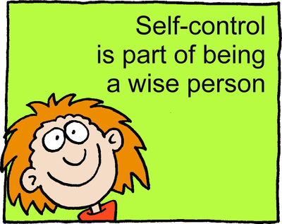 Wise Self Control Clipart It Is Wise To Have Self Control It Is Not