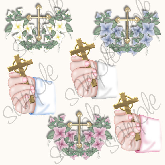 Baby Baptism Clip Art