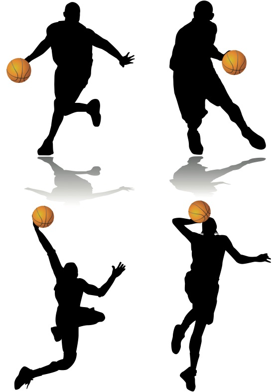 Basketball Player Clipart - Synkee