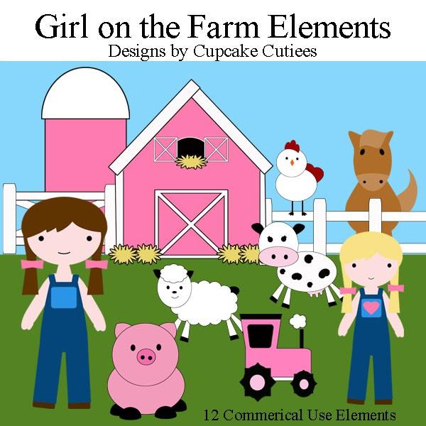 Cartoon Barn Animals Clipart - Clipart Suggest