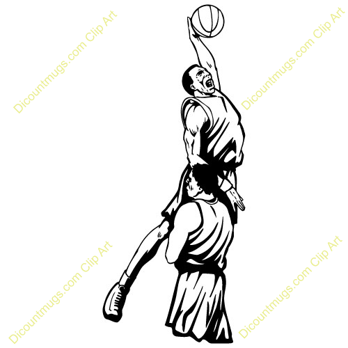 Basketball Player Shooting Clipart - Clipart Suggest