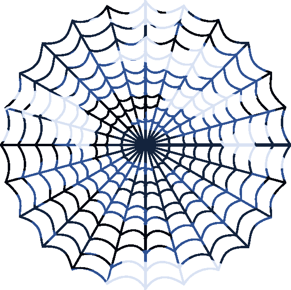 Blue Camouflage Spiders Web   Free Images At Clker Com   Vector Clip