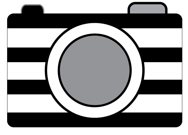 Camera Black And White Clipart - Clipart Suggest