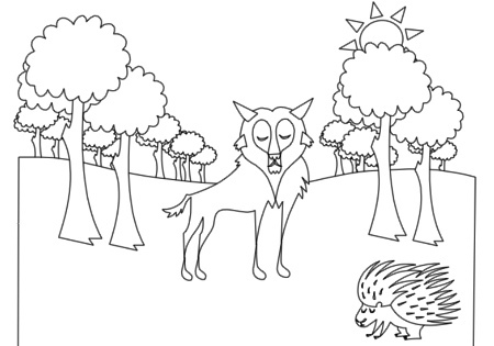Forest Animals Coloring Book Pg 4   Flickr   Photo Sharing