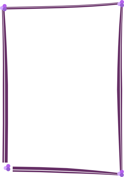 Purple Frame Clipart - Clipart Kid