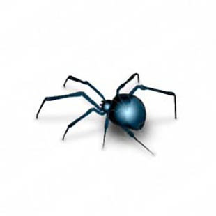 Quality Royalty Free Spider Blue Powerpoint Graphics And Spider Blue