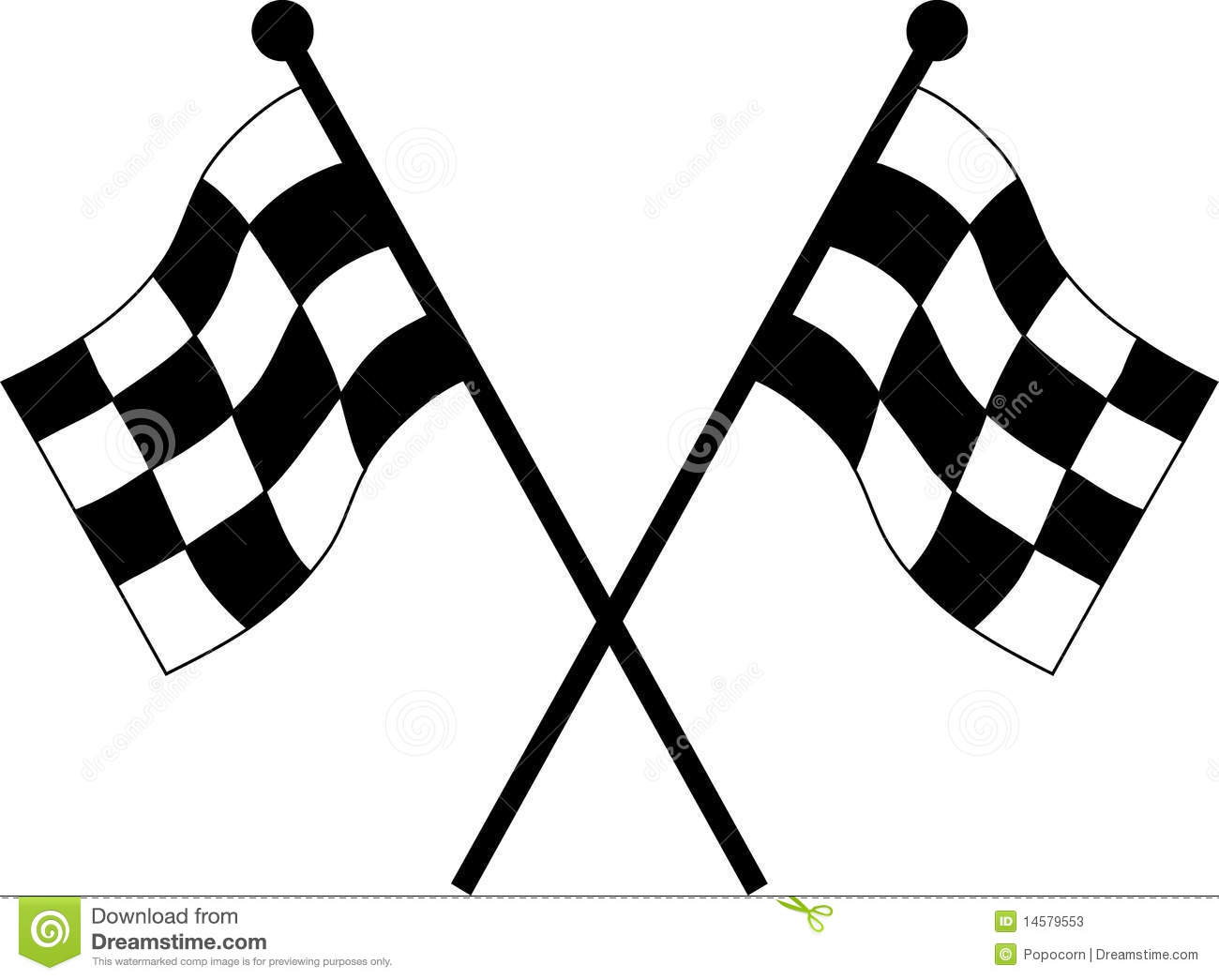 Racing Flags Clipart - Clipart Kid