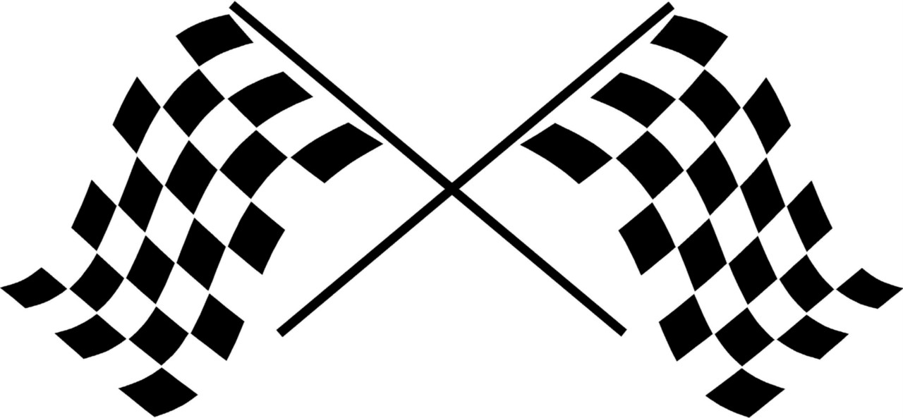 free race car flag clip art - photo #6
