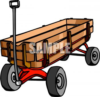 Wooden Wagon Clipart - Clipart Kid