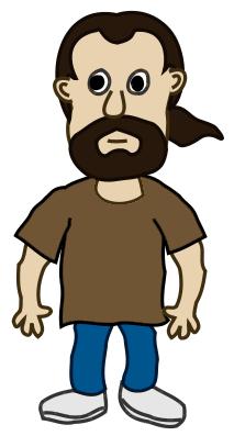 Cartoon Man Clipart - Clipart Kid