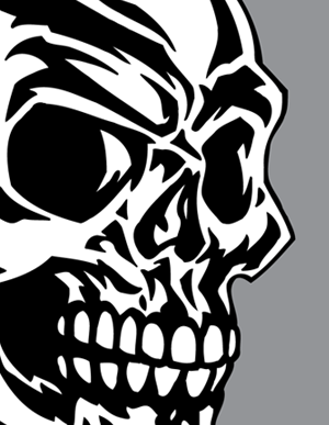 These Stylized Tribal Skull Clip Art Illustrations Are Good For A Wide