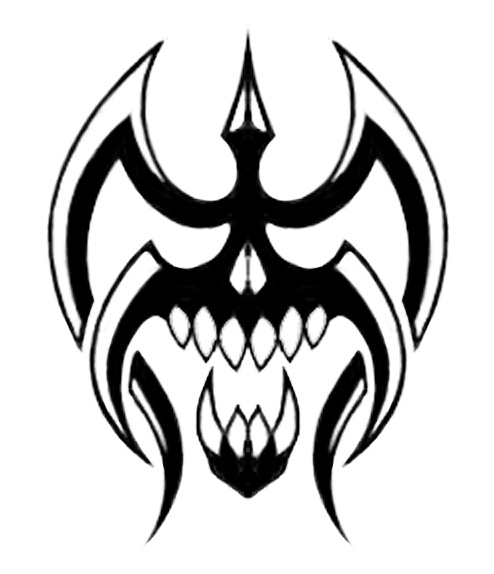 Tribal Skull By Steelraven On Deviantart