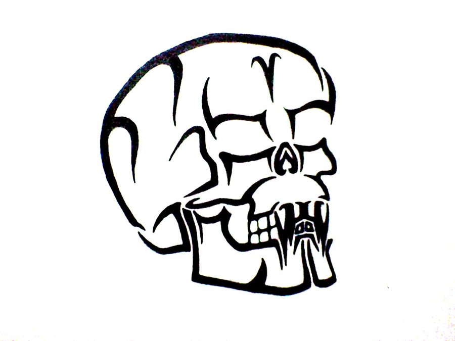 Tribal Skull Version 1