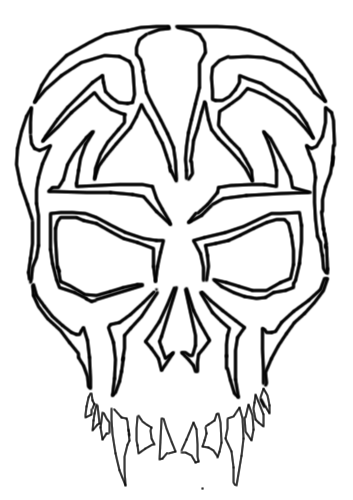 Tribal Skulls Free Cliparts That You Can Download To You Computer