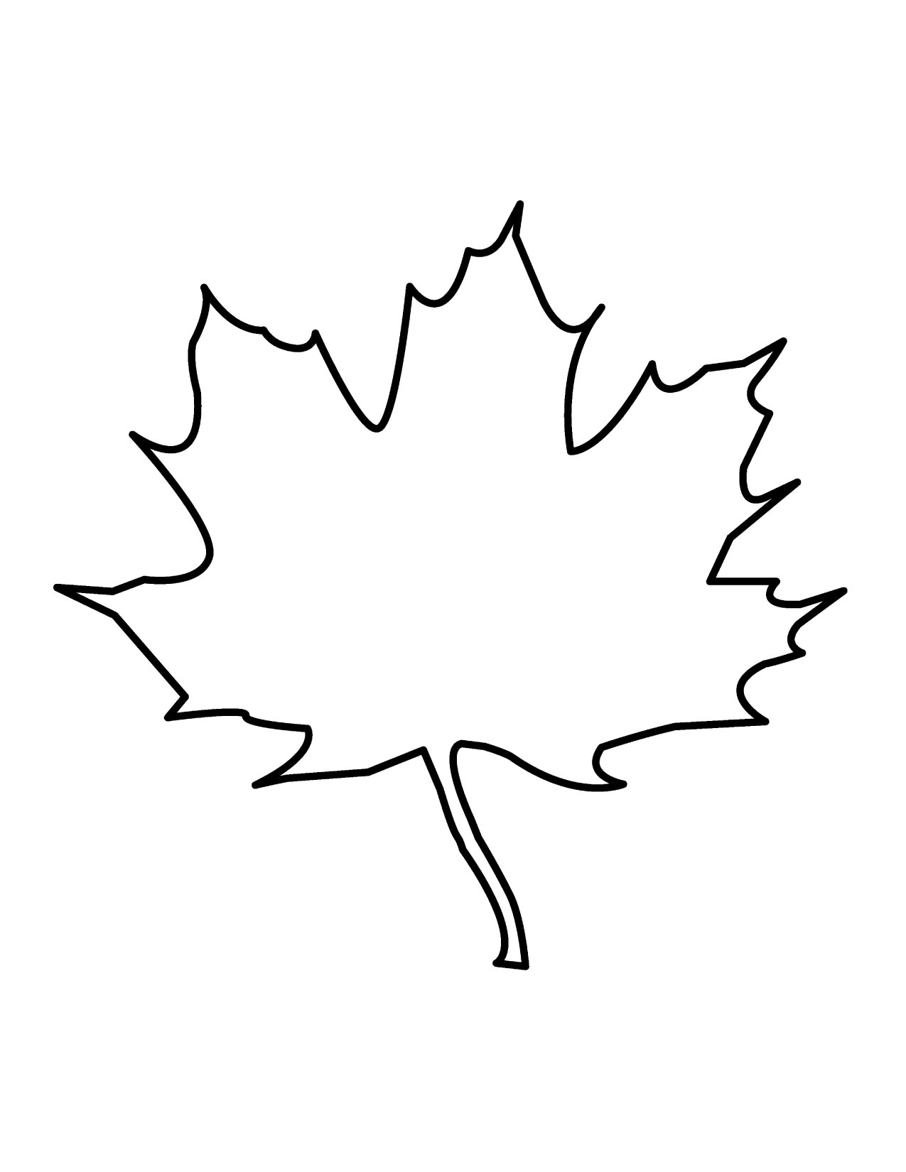 Clip Art Leaf Outline Clip Art maple leaf outline clipart kid 18 fall leaves free cliparts that you can download to you