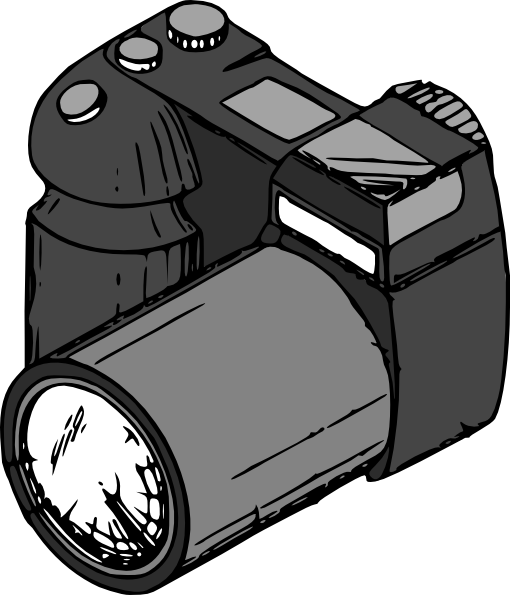 Camera Clip Art At Clker Com   Vector Clip Art Online Royalty Free
