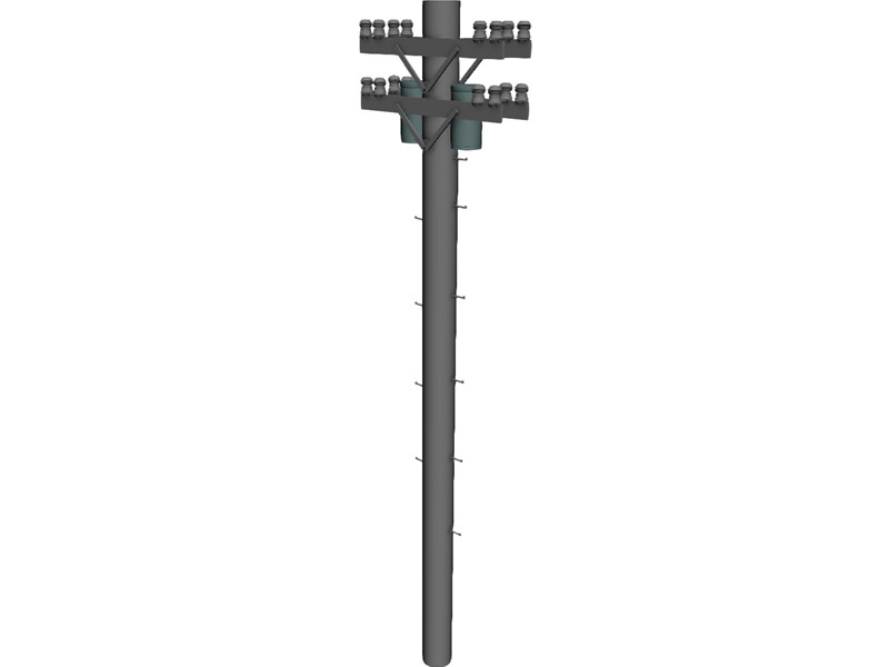 Electric Pole Clipart Electric Utility Poles