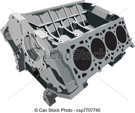 Engine Block Clip Art