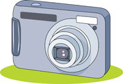 Free Camera Clipart   Clip Art Pictures   Graphics   Illustrations