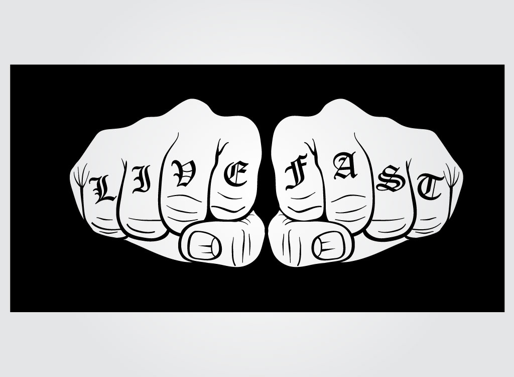 Knuckles Hand Clip Art A Pair Of Fists With Knuckle