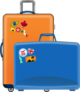 Luggage Clip Art At Clker Com   Vector Clip Art Online Royalty Free
