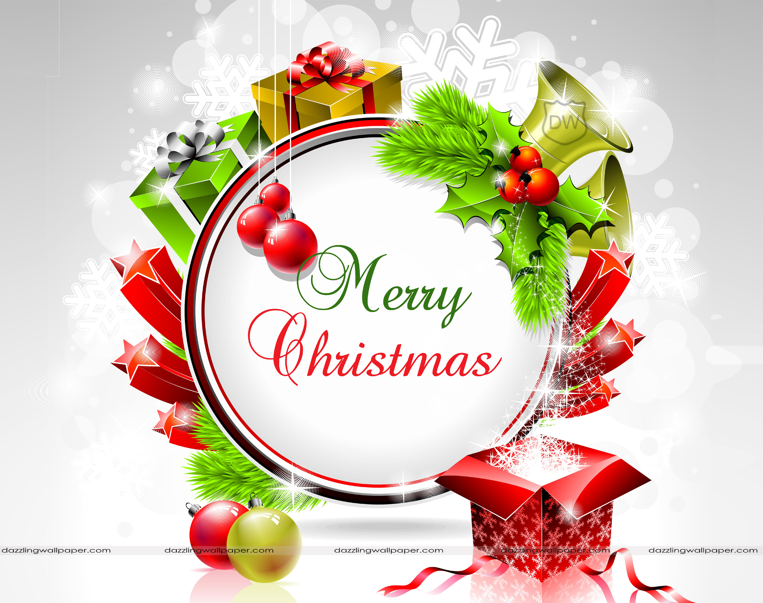 Merry Christmas To All Clipart