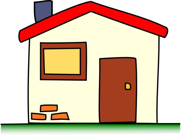 My House Cartoon Clip Art At Clker Com   Vector Clip Art Online