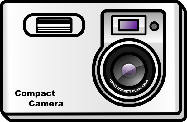 Slim Camera Clip Art At Clker Com   Vector Clip Art Online Royalty