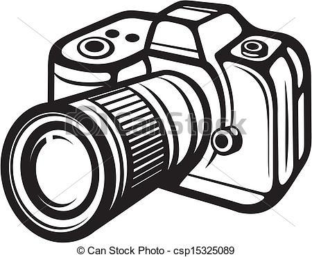 Clip Art Camera Clipart Black And White small camera clipart kid stock clip art icon icons logo line art