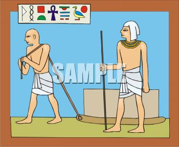 0511 0810 0513 5056 Egyptians In Ancient Egypt Clipart Image Jpg