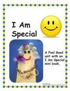 Am Special Clipart I Am Special Lesson Plan