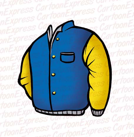 Cartoon Vector Illustration Jacket