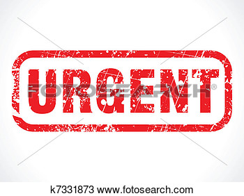 Clipart Of Abstract Grunge Based Urgent Stamp K7331873   Search Clip