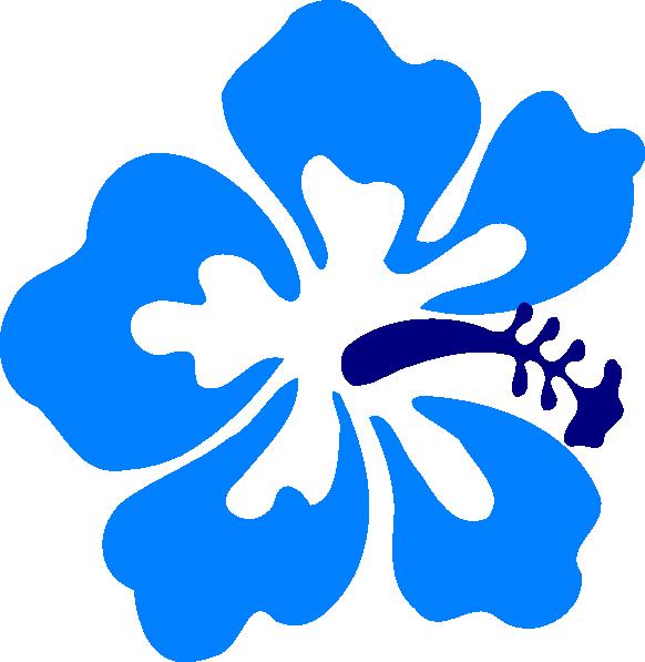 Hawaiian Gumamela Clip Art At Clker Com   Vector Clip Art Online