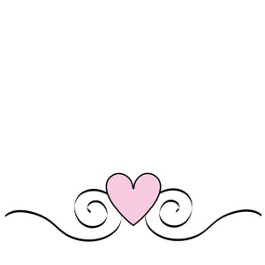 Heart Swirls Clipart - Clipart Suggest