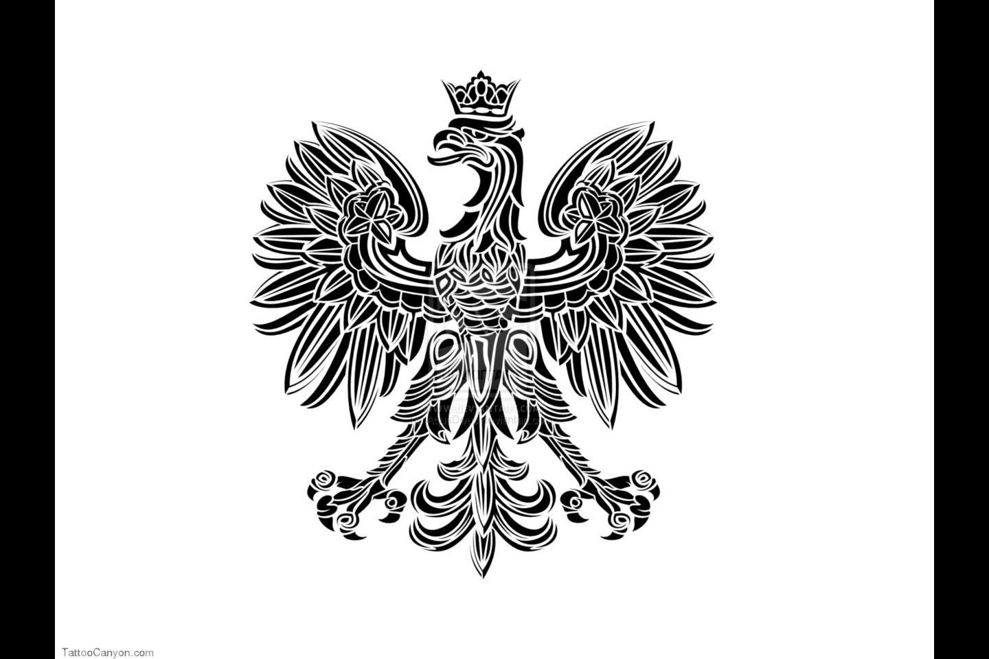 Pin White Polish Eagle Clip Art Vector Online Royalty Free On