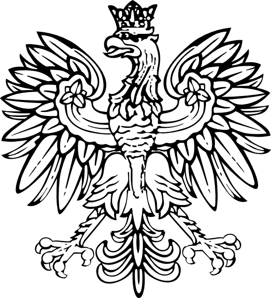 Polish Eagle Clip Art At Clker Com   Vector Clip Art Online Royalty