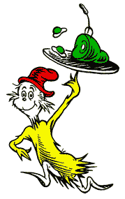 Sam I Am Offers Up Some Green Eggs And Ham