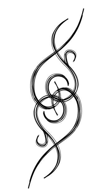 Swirl Tattoos For Girls   Swirl Heart Tattoo Graphics Code         Ta