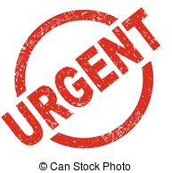 Urgent   An Urgent Red Ink Stamp On A White Background