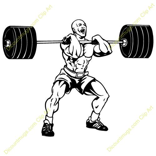Clip Art Weight Lifting Clip Art weight lifting logos clipart kid bar clip art