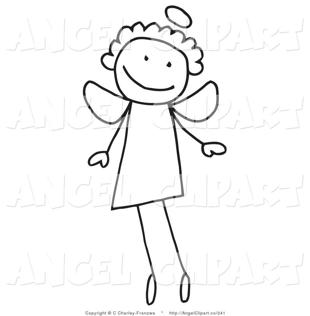 Flying Angel Clipart - Clipart Kid