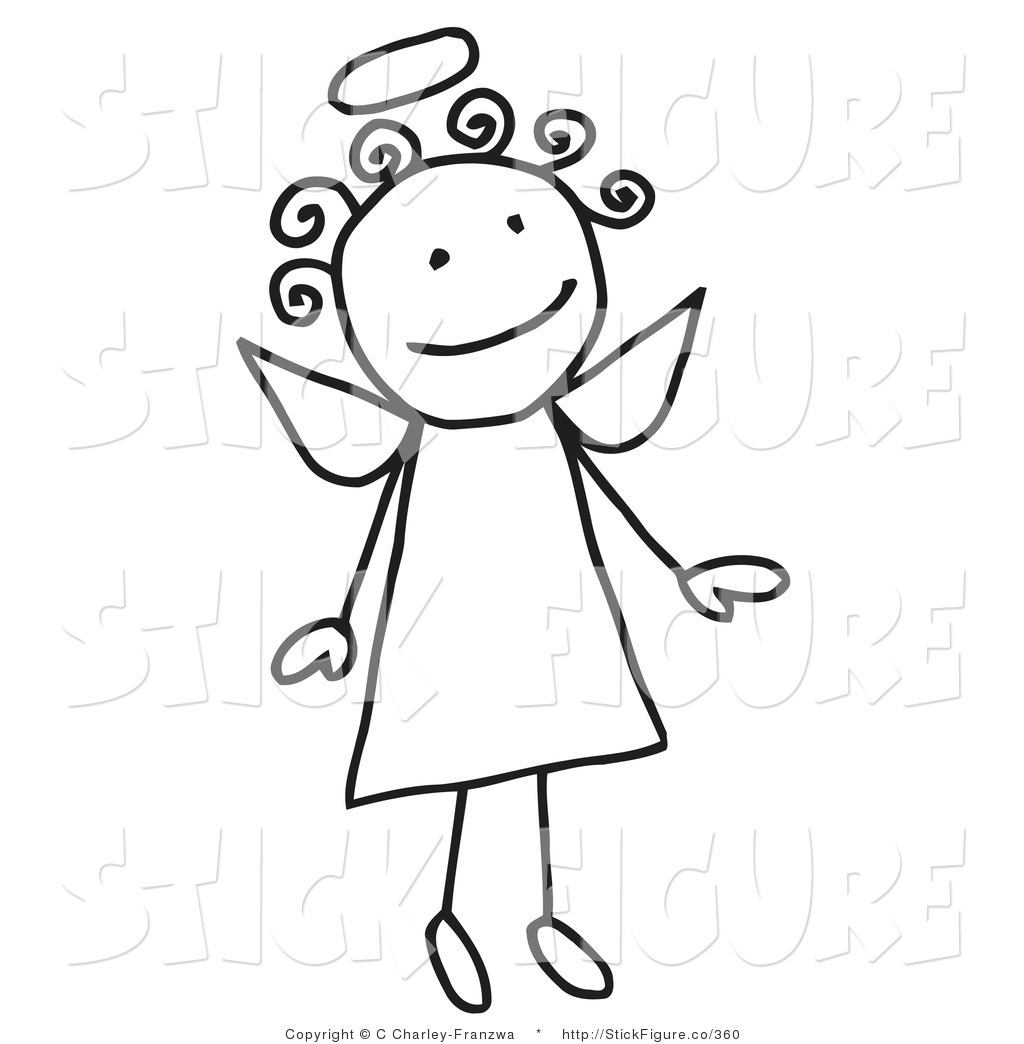 Clip Art Of Angel Flying Clipart - Clipart Kid