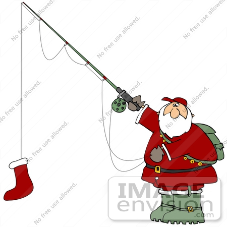 Christmas Fish Clip Art Http   Imageenvision Com Clipart 36155 Clip