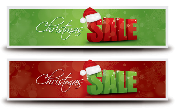 Christmas Sale Banner 1   Free Images At Clker Com   Vector Clip Art